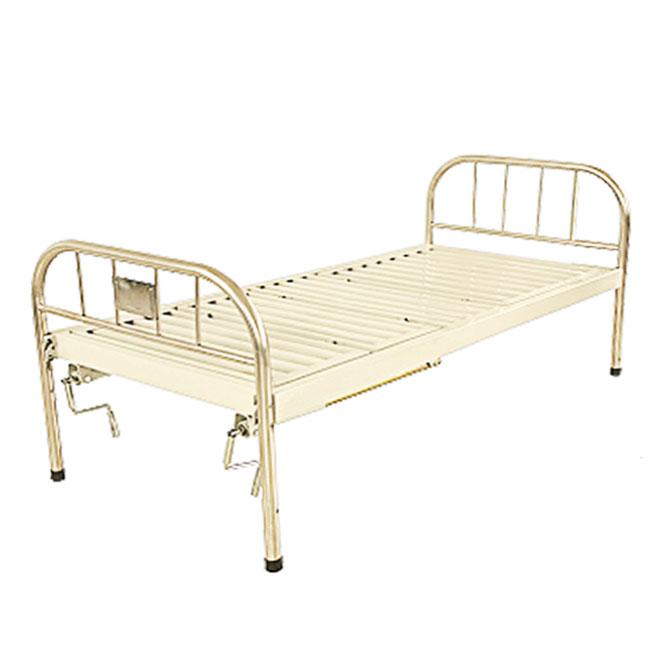 万博网页版登陆页面病床-不锈钢床头双摇床